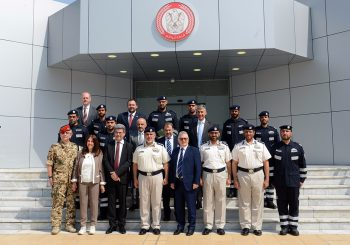 Signature of the MoU between International Master Cbrne Tor Vergata and the Abu Dhabi Police